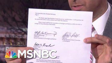 Dems Subpoena Trump WH In Impeachment Escalation | The Beat With Ari Melber | MSNBC 5