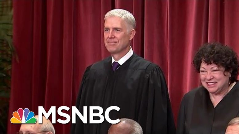 Why Neil Gorsuch Could Be Supreme Court Swing Vote In LGBT Job Rights Case | Andrea Mitchell | MSNBC 1