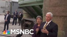 Watch: Pence Evades Repeated Questions On Trump's Ukraine Plot   The Beat With Ari Melber   MSNBC 9