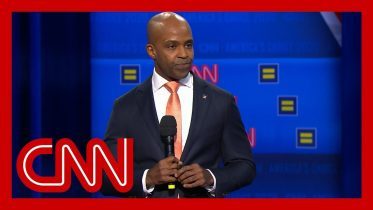 Human Rights Campaign President speaks before CNN town hall 10