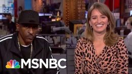 Rakim On The Secret To Longevity In Music And Business | The Beat With Ari Melber | MSNBC 9