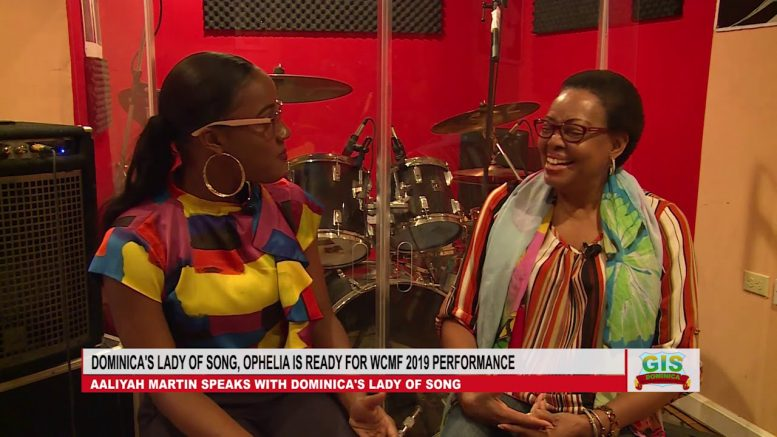 Dominica's Lady of Song, Ophelia says she is ready for WCMF 2019 1