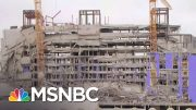 1 Dead, 3 Missing After Hard Rock Hotel Under Construction In New Orleans Collapsed   MSNBC 4