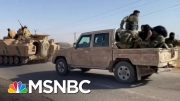 Hundreds Of ISIS Family Members Escape Camp In Syria Amid Turkish Advance   MSNBC 5