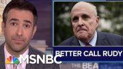 From Bombshell News To Giuliani 'Grenade': Trump Aide Warned Ukraine Plot Like A Criminal Drug Deal 5