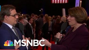 Amy Klobuchar On Sparring With Warren In Debate | All In | MSNBC 6