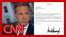 Jake Tapper: I thought this Trump letter was a joke ... it's real 8