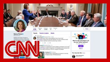 Trump tweets picture to troll Pelosi. She makes it her cover photo 6
