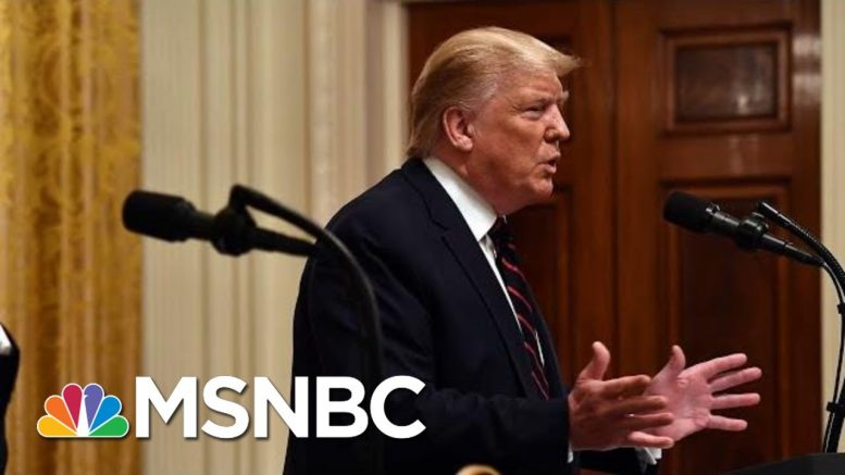 Trump Says The Kurds 'Are No Angels' And Defends His Decision To Withdraw Troops | MSNBC 1