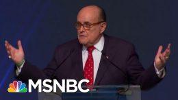 'Horrifying, Abnormal' & Maybe 'Criminal': NY Fed Insider On Giuliani Probe And Trump Plot   MSNBC 7