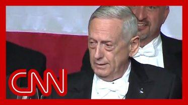 Mattis mocks Trump's bone spurs during Al Smith dinner speech 6