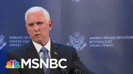 Mike Pence Announces The U.S. And Turkey Have Agreed To A Ceasefire In Syria | MSNBC 8