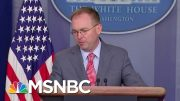 White House Kicks Off Busy Impeachment Week In Clean-Up Mode   Velshi & Ruhle   MSNBC 2