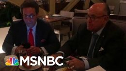 See Photos Of Indicted Giuliani Associate Celebrating With Trump Lawyer | MSNBC 2