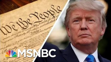 Trump Says The 'Phony' Constitution 'Doesn't Matter' Because He's 'Rich' | MSNBC 6