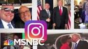 The Instagram Page Of An Indicted Rudy Giuliani Associate | All In | MSNBC 4