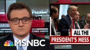 Chris Hayes On The Toll Of The Impeachment Inquiry On Trump's Presidency | All In | MSNBC 4