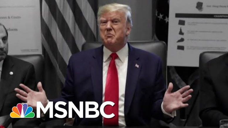 Trump Loses Control Of The Narrative As Dems Ramp Up Impeachment Pressure | The 11th Hour | MSNBC 1