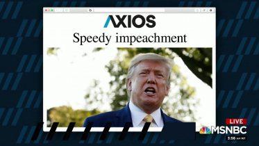 1 Big Thing: Speedy impeachment 6