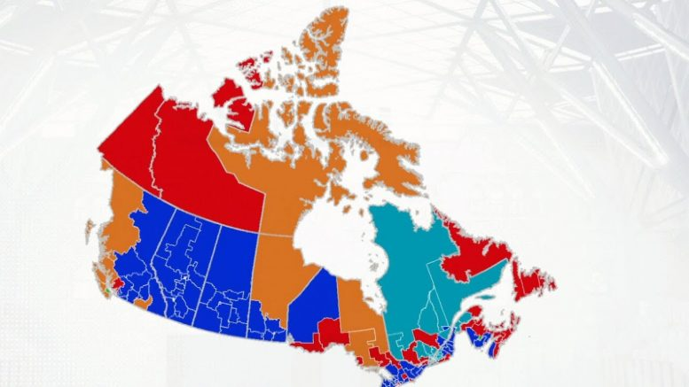 Liberals hold on to key parts of Ontario while Conservatives sweep Alberta and Saskatchewan 1