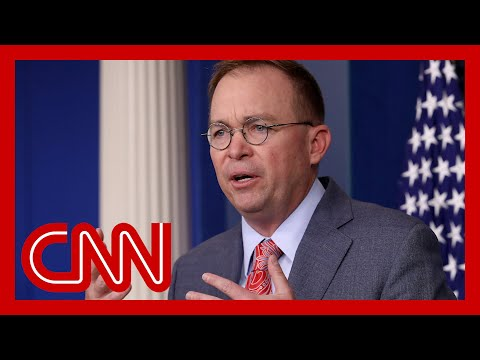 Report: Mick Mulvaney asked about legality for withholding Ukraine aid 2