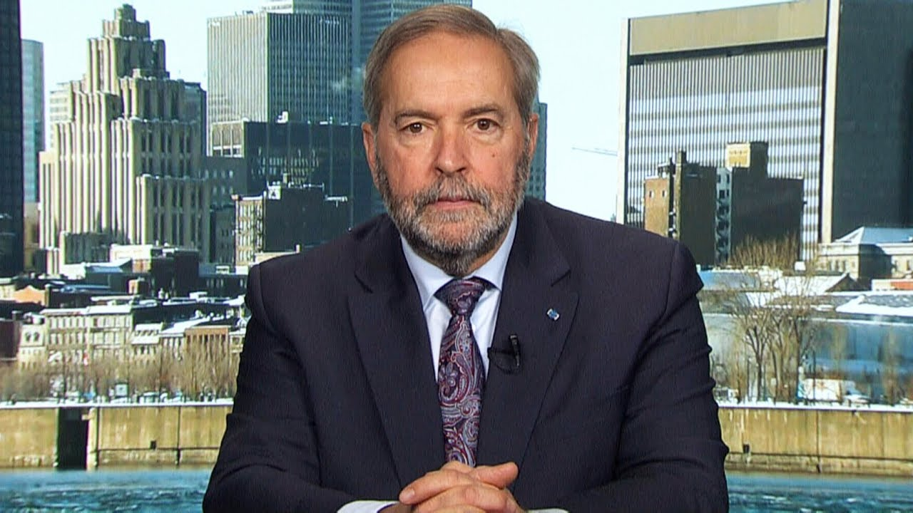 Mulcair breaks down Singh and Scheer's shadow cabinets 2