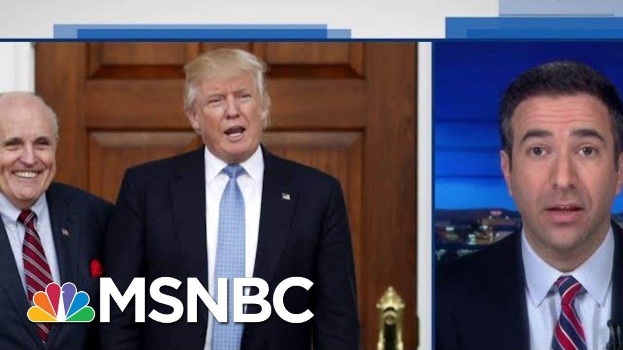 'Criminal Conspiracy': Trump's Giuliani Denial On Ukraine 'Not Credible' | MSNBC 9