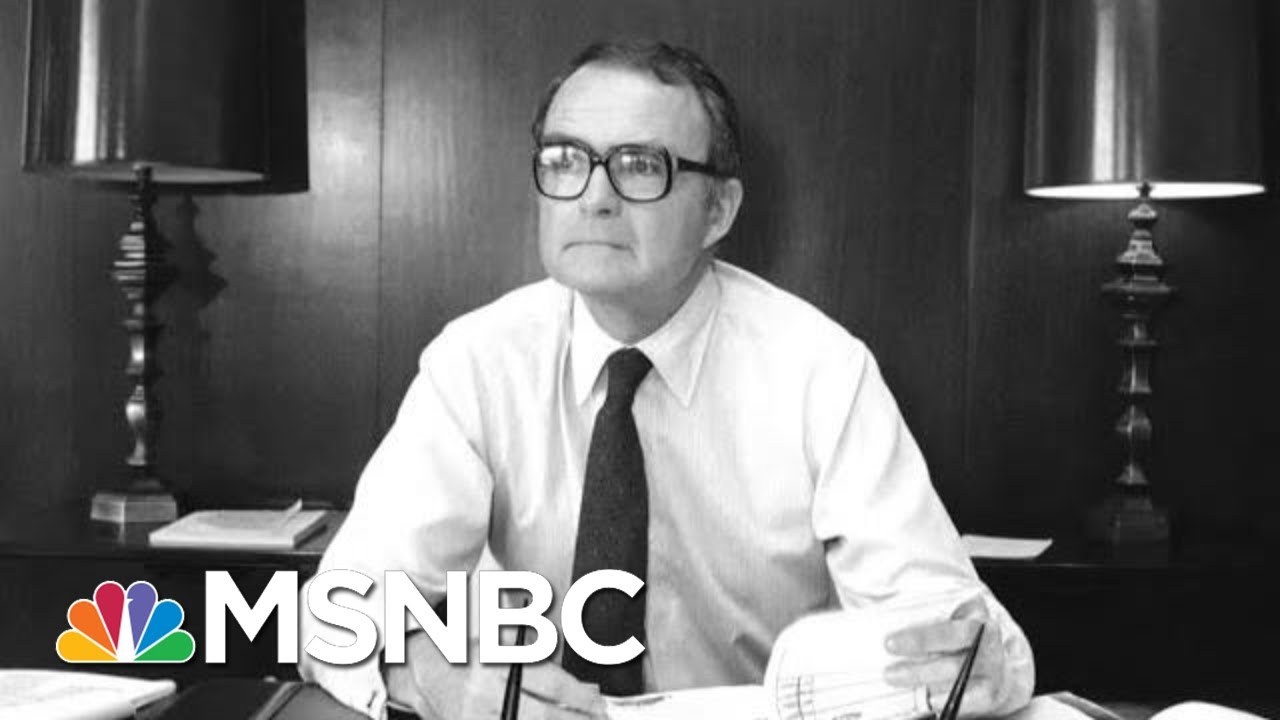 William Ruckelshaus, The Man Who Defied Nixon, Dies At 87 | The 11th Hour | MSNBC 7