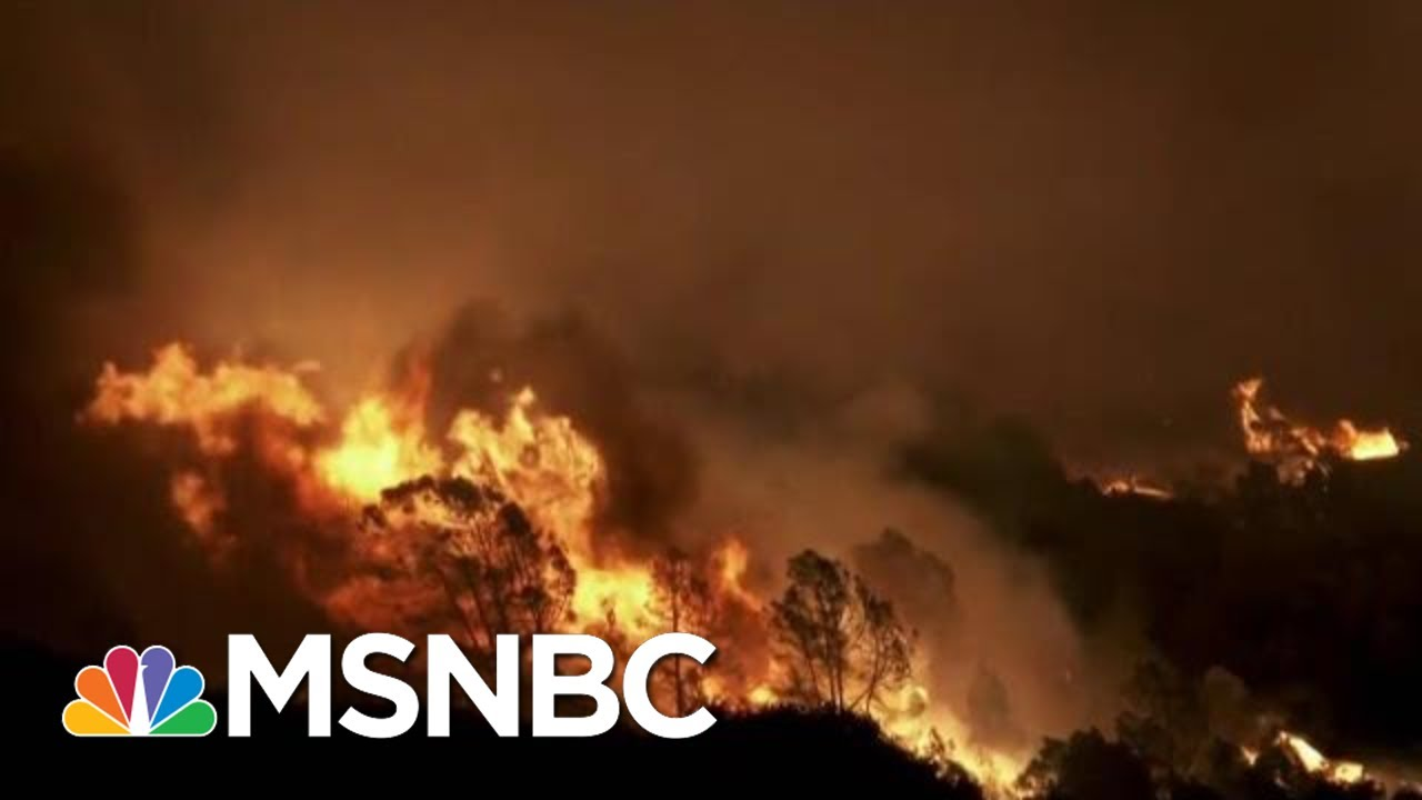 California Wildfires Crisis: The New Normal? | The Last Word | MSNBC 1