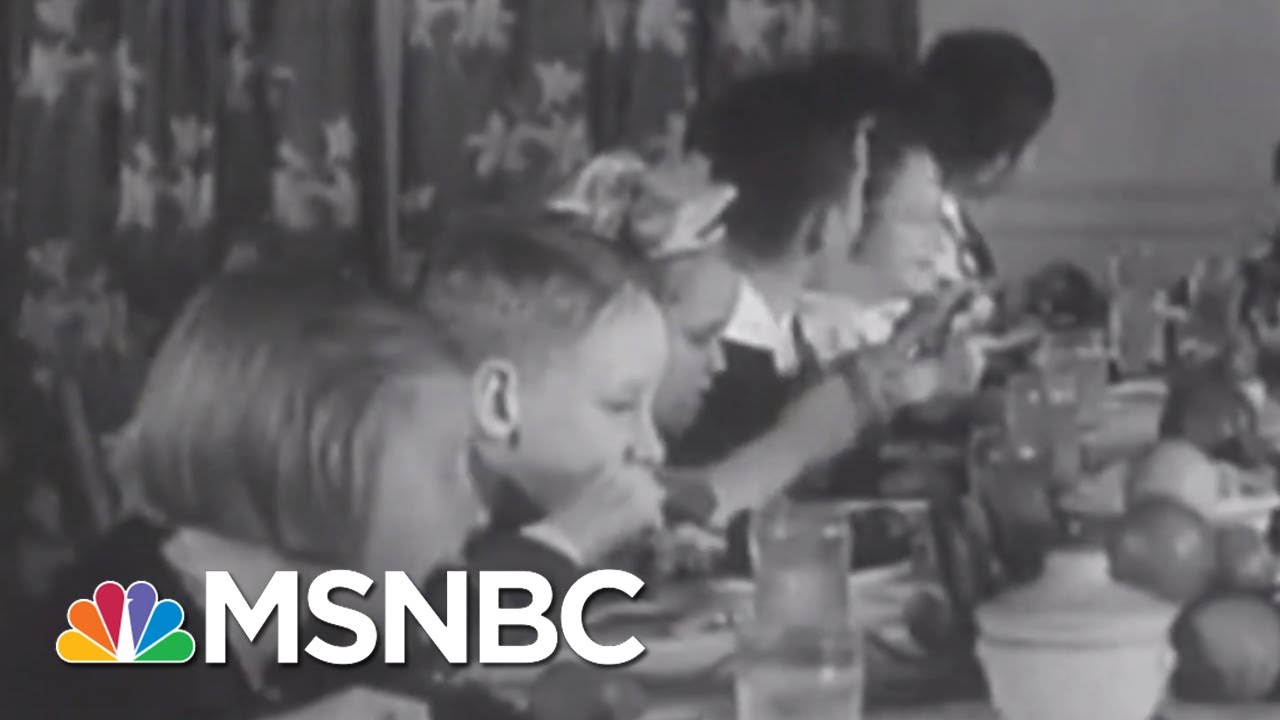 FDR Learned The Hard Way Not To Tinker With Thanksgiving | Rachel Maddow | MSNBC 7