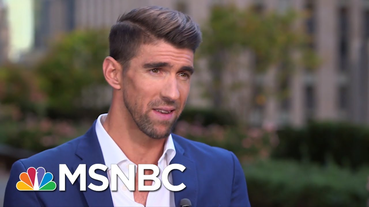 Michael Phelps On Saving Water, Mental Health And Hanging With Lil Wayne At SNL | MSNBC 5