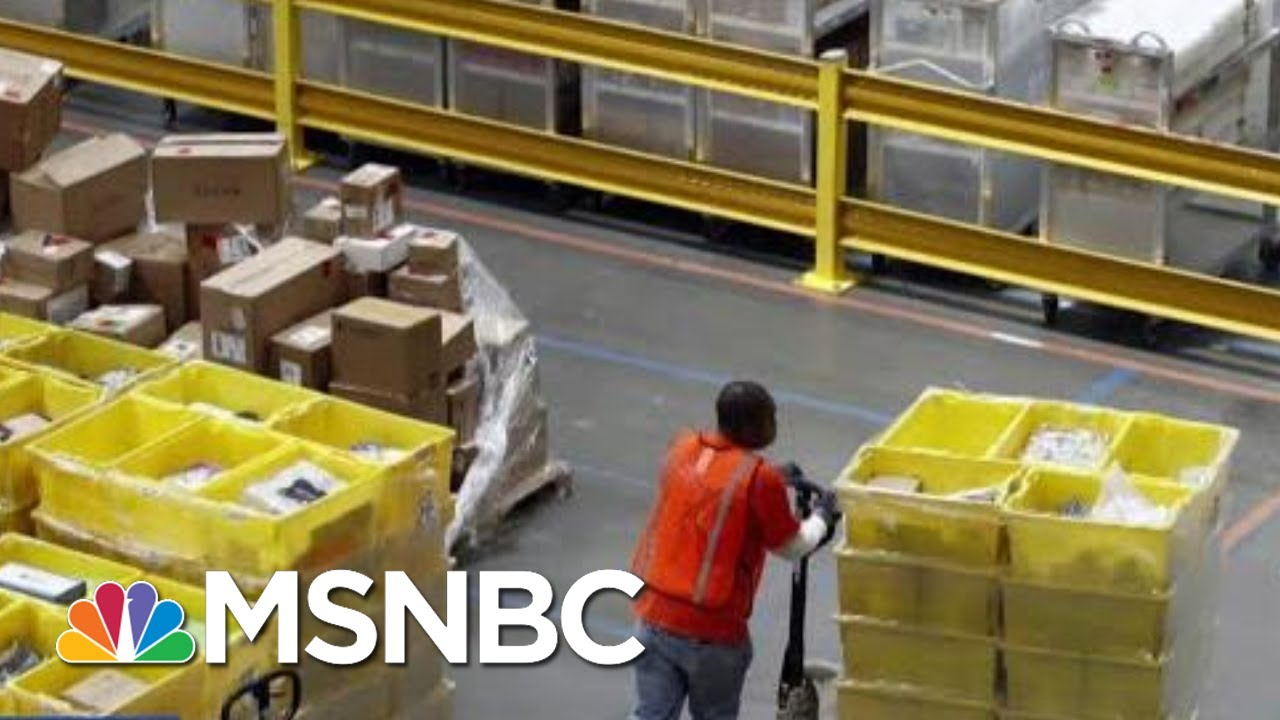 The Toll Black Friday Takes On Workers | Velshi & Ruhle | MSNBC 9