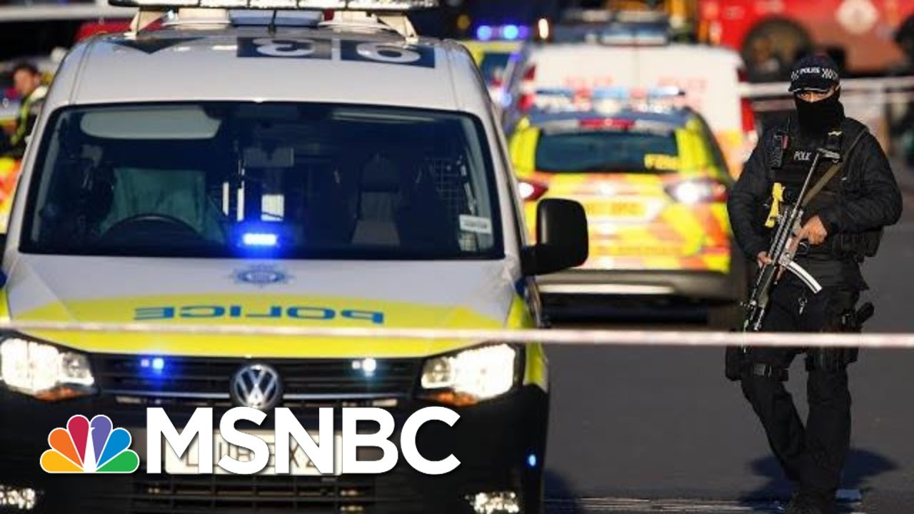 Police Confirm London Bridge Stabbings 'A Terrorist Incident' | MSNBC 1