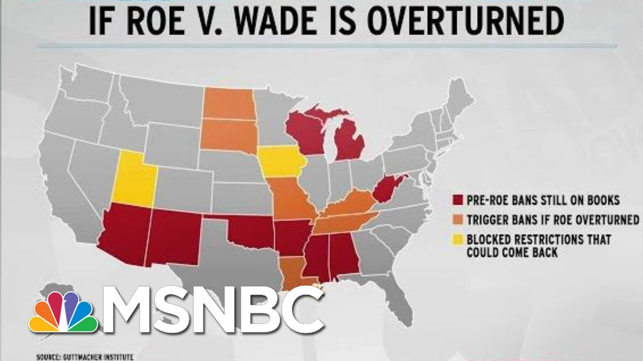 Trump/McConnell Supreme Court Poses New Threat To Roe V. Wade | Rachel Maddow | MSNBC 1