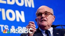 Giuliani Needed Apple Genius To Unlock Phone After Becoming Cybersecurity Adviser | Katy Tur | MSNBC 6