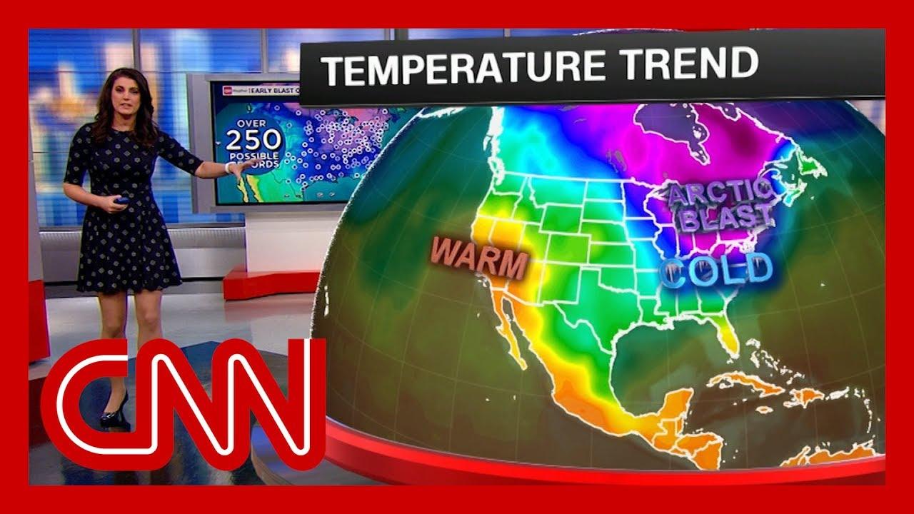 Millions facing record cold temperatures 2