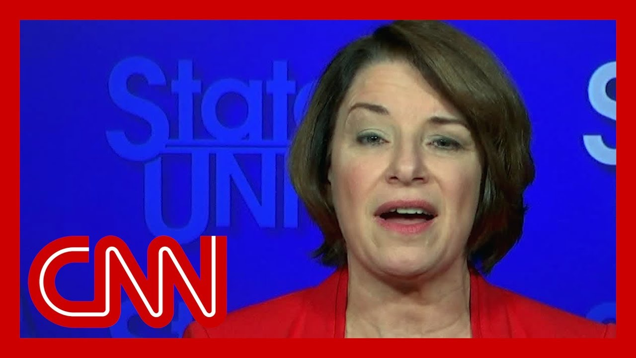 Amy Klobuchar: Michael Bloomberg can't just waltz in and say this 2