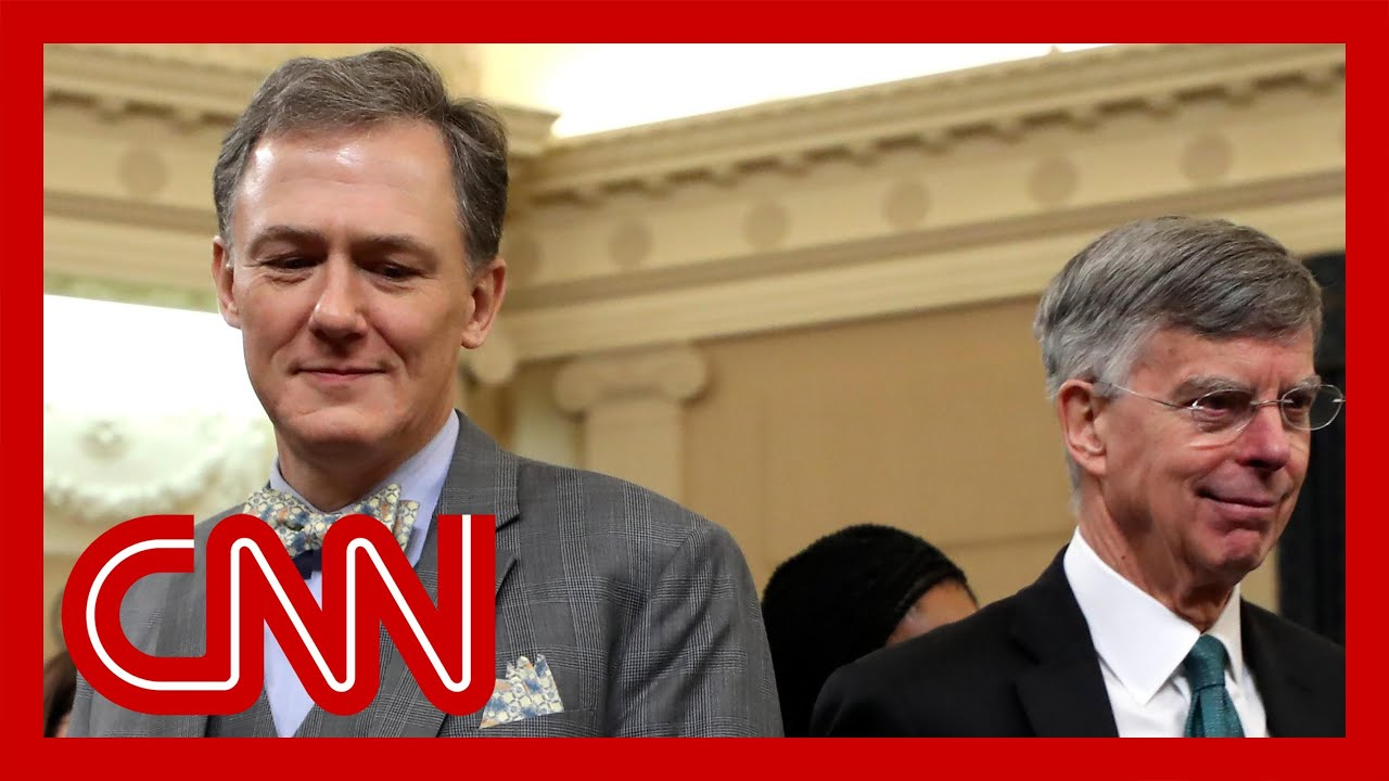 Trump impeachment hearings - Bill Taylor, George Kent (FULL CNN Live Stream) 1