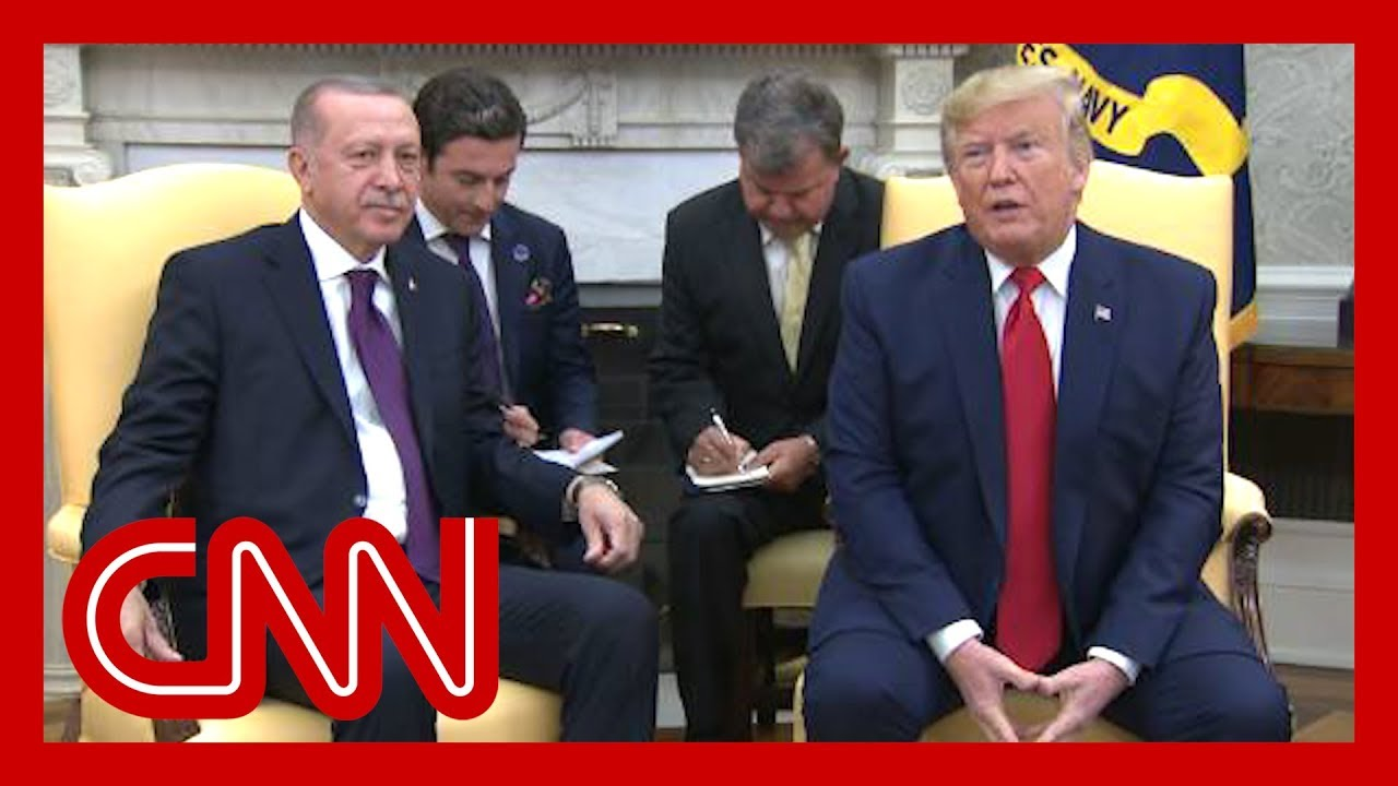 Trump praises Erdogan during White House visit 9