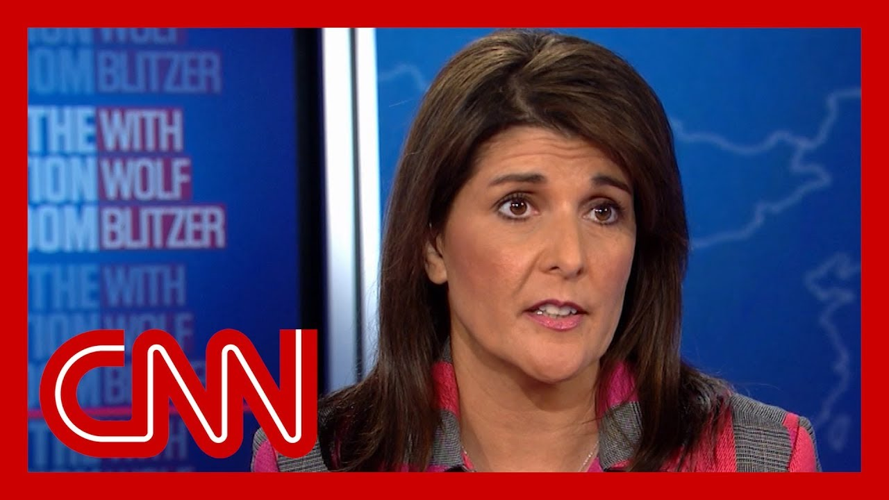 Nikki Haley is pressed about Trump's truthfulness 7