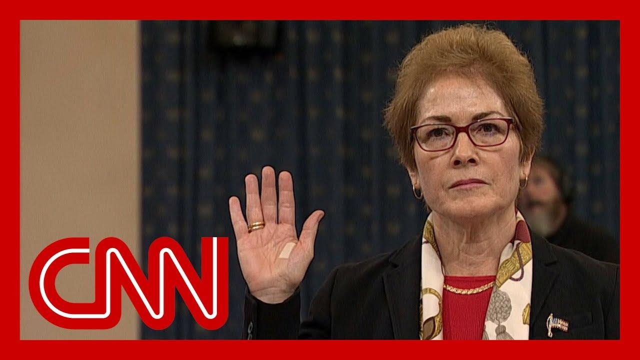 Former US Ambassador to Ukraine Marie Yovanovitch impeachment hearing full remarks 6