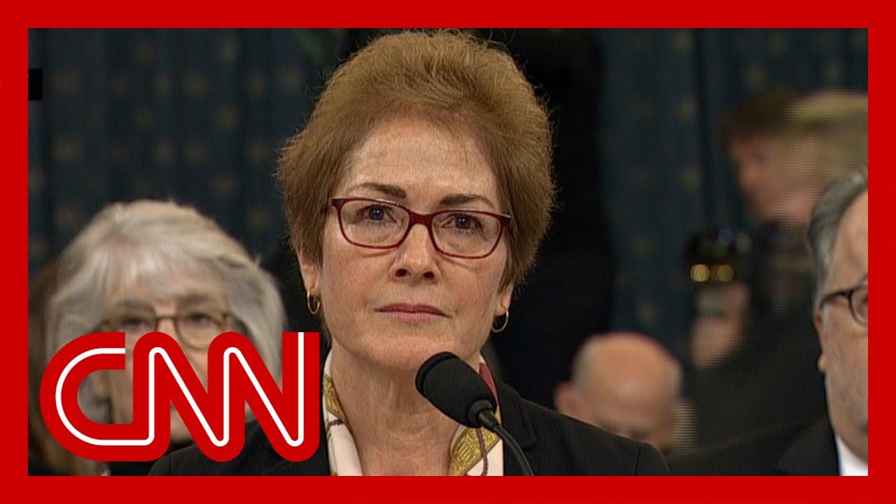 Trump impeachment hearings - Marie Yovanovitch (FULL CNN Live Stream) 6