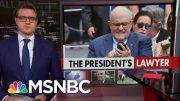 Cybersecurity Adviser Rudy Giuliani Locks Himself Out Of iPhone | All In | MSNBC 4