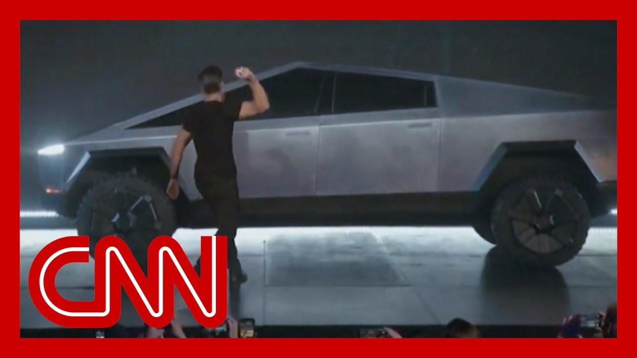 Tesla's 'unbreakable' window demo goes horribly wrong 12