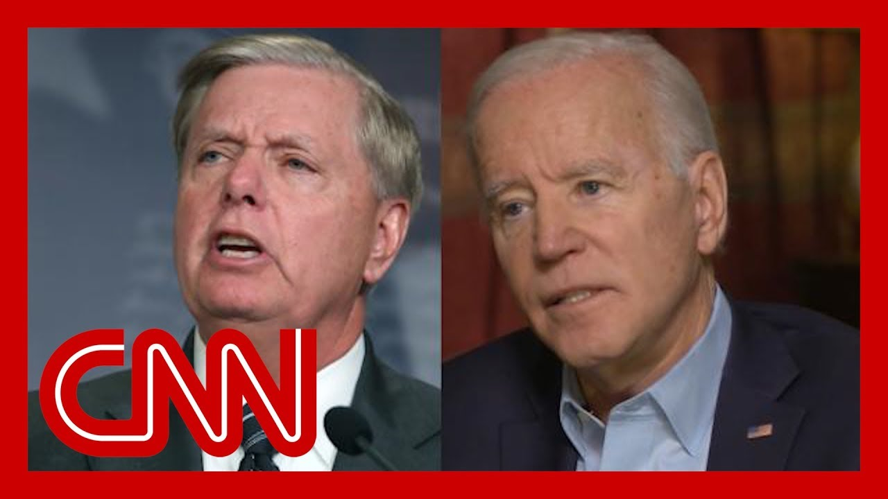 Watch Biden fire back at Graham: I'm embarrassed for you 10