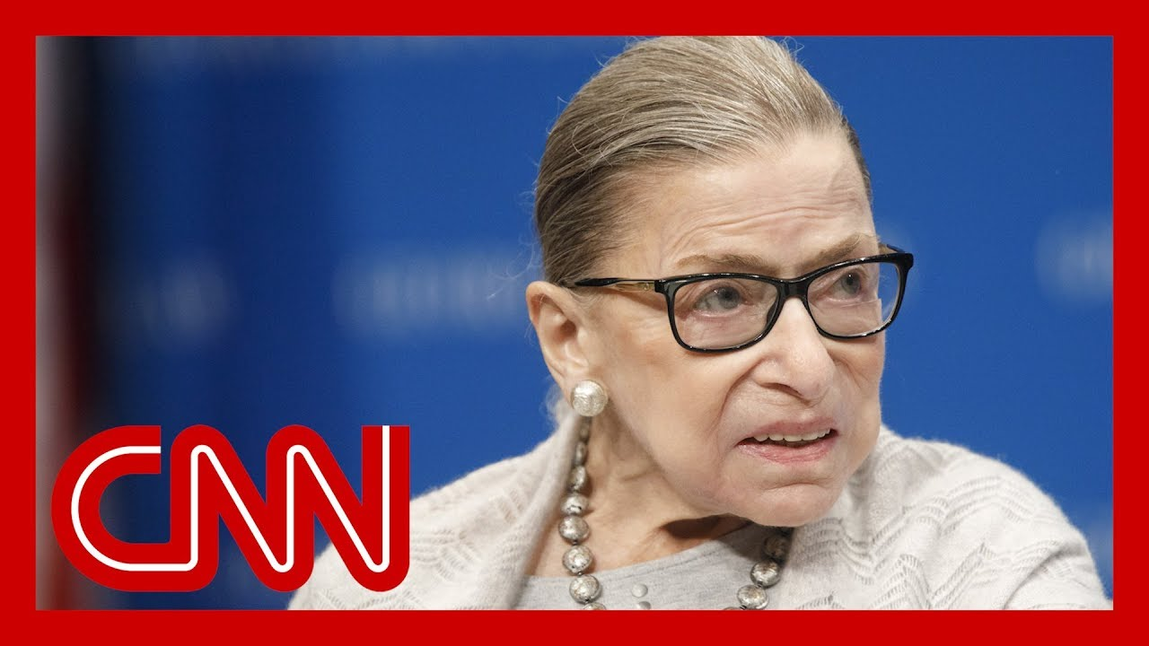 Ruth Bader Ginsburg hospitalized with chills and a fever 2