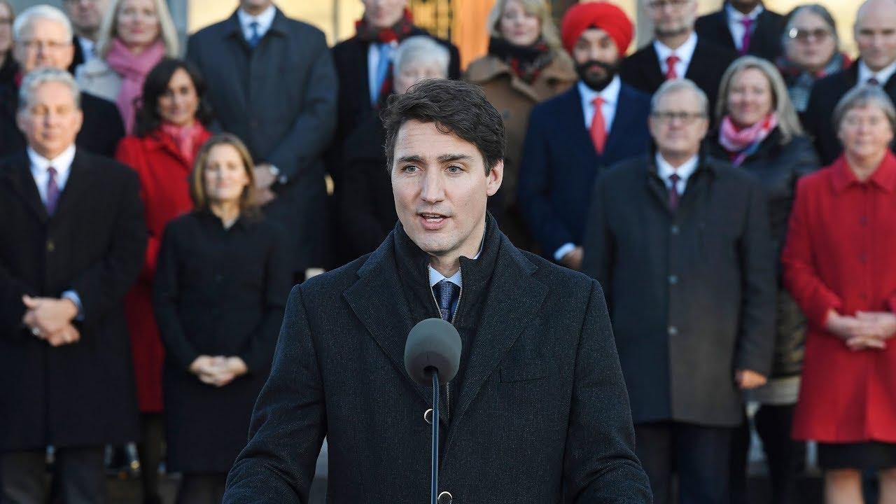 Prime Minister Justin Trudeau unveils new cabinet 3