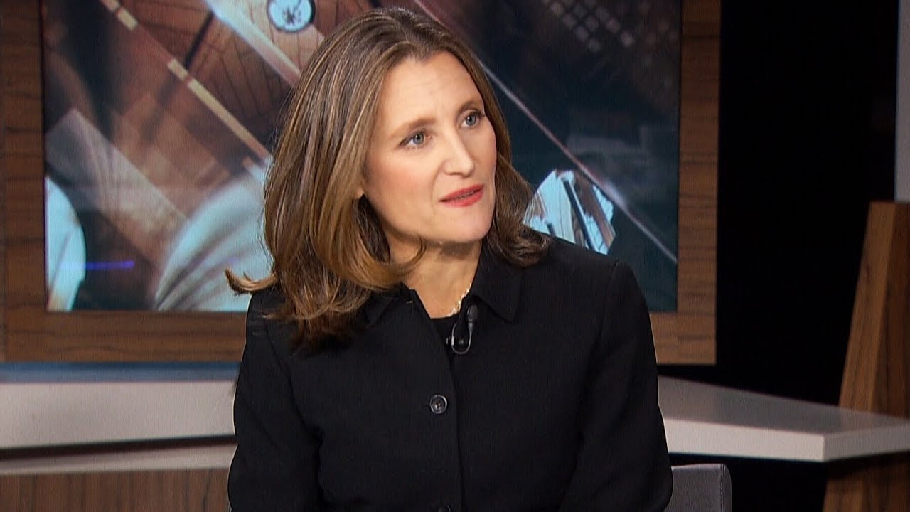 Freeland discusses her goals as Canada's deputy prime minister 7
