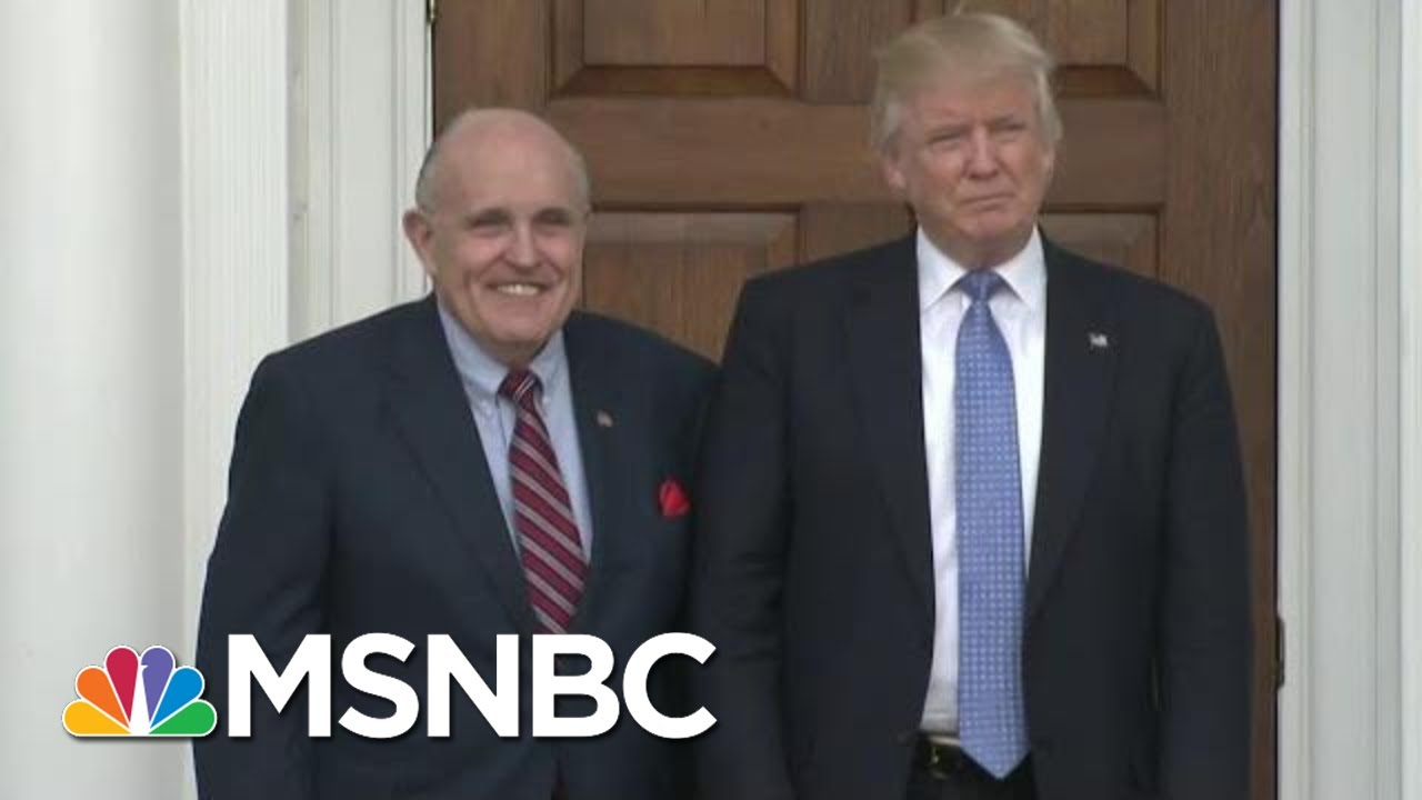 Trump's Lawyers: In Prison, Under Investigation And Haunting Impeachment Probe | MSNBC 5