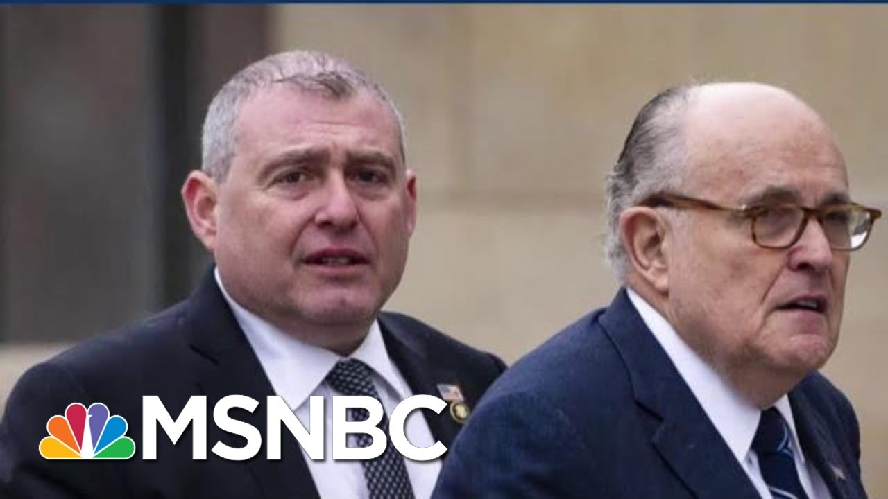 'He's Worried': Indicted Giuliani Associate Complying In Impeachment Probe   MSNBC 2